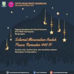 Selamat Menunaikan Ibadah Puasa Ramadan 1442 H